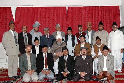 Huzur with National Amila Majlis Ansarullah Germany