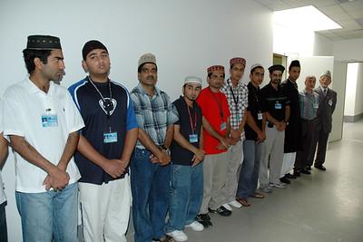 Members of MTA Intl. Germany Studios waiting for Huzur