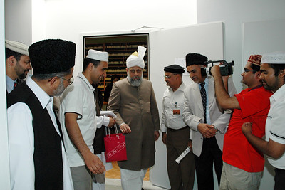 Huzur takes a tour of the studios