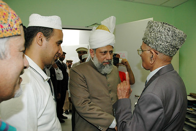 Huzur meets Patel Sahib Office Incharge MTA