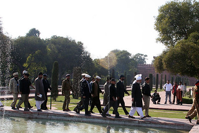 Huzur visits Taj Mahal in Agra, India