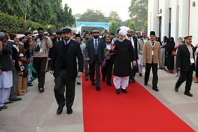 Arrival at Delhi Mission