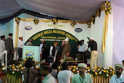 Reception for Huzur at Calicut