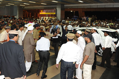 Huzur's Arrival at Calicut airport Kerala