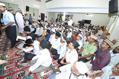Audience - Umar Masjid Inaugration