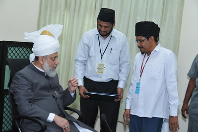 With Ernakulam Zonal Ameer Kabeer Sahib & Moulavi Ismaeel Sahib