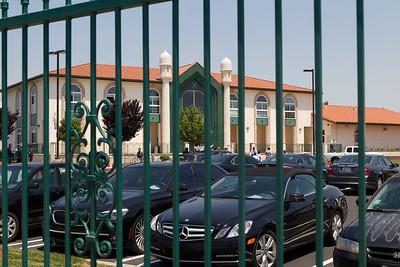 Arrival of Khalifatul Masih V (aba) in LA