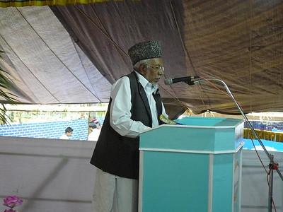Inaugural speech by Moulana Mohmmed Umer sahib