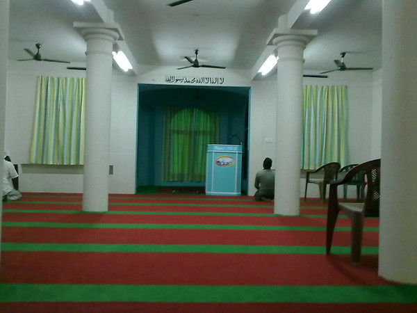 Interior of Masjid Mahmood