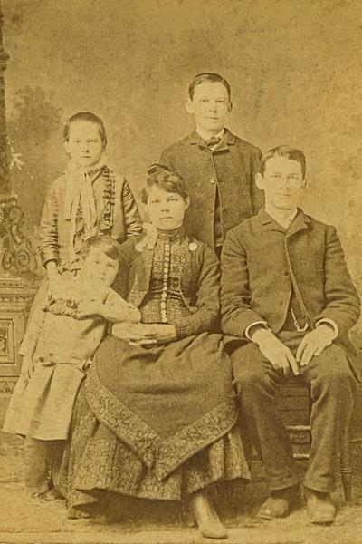 37–Annie, Rena, Charles Ed, & Gus Hall