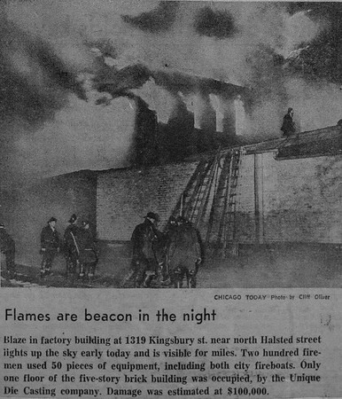 Historical Fire news clippings