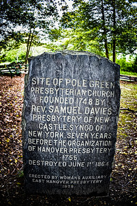 "Historic Polegreen ""Ghost"" Church - Mechanicsville, Virginia"