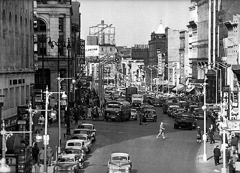 Albany NY North Peal Street circa 1958