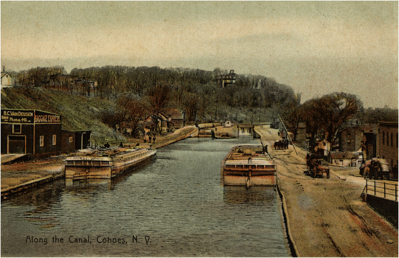 Cohoes Erie Canal 1907