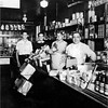 Goerge LaPort Store Clifton and Grove Waterford circa 1934 Leo Bessette second left