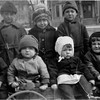 Neighbor Kids Grace St Waterford circa 1921 Front 2nd left Albert Kaby Bessette, 2nd right Leo Bessette, Back right Harvey Bessette