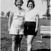 Cousins Francoise Menard Beaulieu and Marietta Amyot Bessette circa 1952 Canada