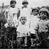 Amyot Kids Top Marietta, Mary Berthe, Lucille, Bottom Paul and John circa 1927