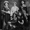 Comtois Women 1914 Back Antoinette, Louisa, Rosa, Front Friend and Alice, mom's mother