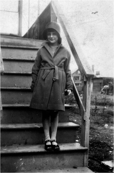 Circa 1920 Canada One of Alice Contois sisters