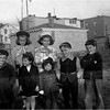 Grace St Waterford Neighbor kids  April 1948 Front 2nd left Judy Bessette