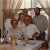 May 1983 St  Jean Quebec, F- Mary Bethre Anyot Mossey, Jean Beaulieu, M- Marietta Amyot Bessette, Francoise Beailieu, B- Leo Bessette, Tom Bessette