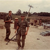 Bob Bessette front with Clark 2 Viet Nam Tan An Feb 1969