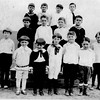 Northside (Waterford) Neighborhood kids circa 1921 Front 2nd left Albert Kaby Bessette and Leo Bessette (in tie)