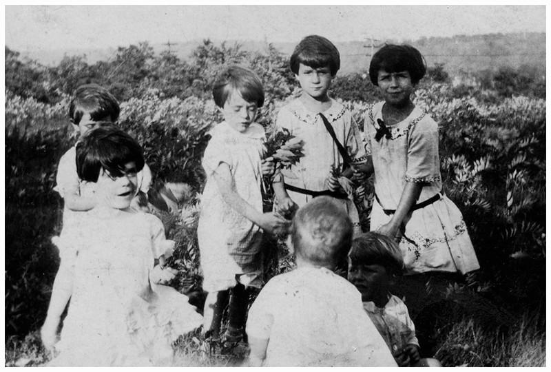 Circa 1927 Mom top right