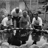 John, Odilas, Alice & Paul Amyot C 1944