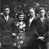 John, Alice Contois, Odilas and Paul Amyot circa 1942
