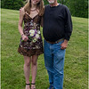 Clarksville NY Senion Ball Pix Jenna Bessette and Tom Bessette 2 June 2017