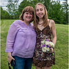 Clarksville NY Senion Ball Pix Jenna Bessette and Kim Bessette 1 June 2017