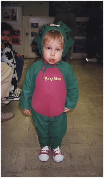 AAlbany NY CCC Daycare Halloween Jenna baby Bop October 2000