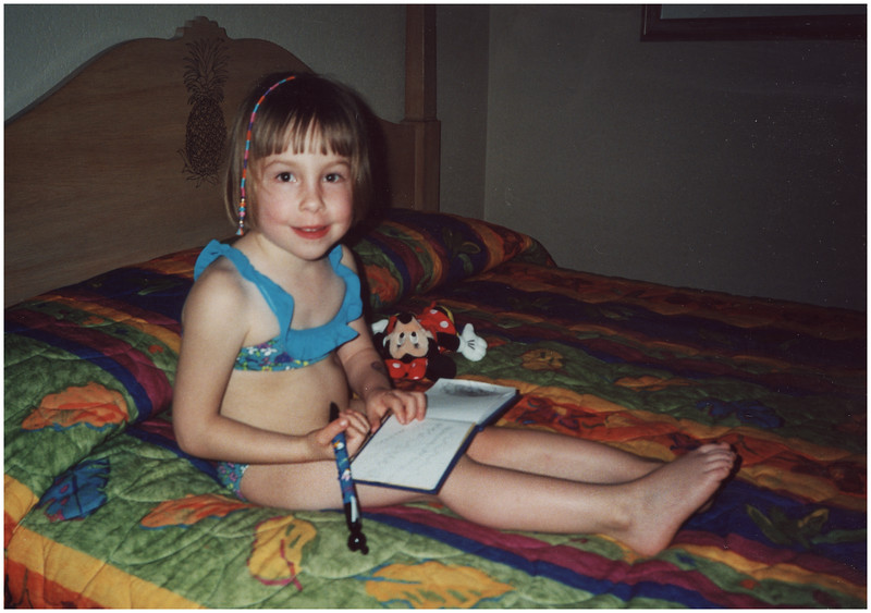 1 AAA Disney 5 on Bed March 2003