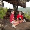 Adirondacks Chimney Mountain Jenna Sam Balance Rock July 2009