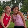 Delmar NY July 2008 Jenna and Maho at Library Lawn