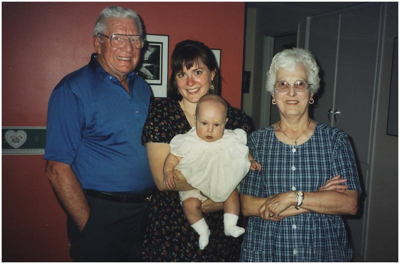 ADelmar NY Baptism Kim Pop Pop Mema Jenna 1 June 1999