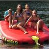 Adirondacks Lake George September 2011 Jenna, Callie and Olivia on Tube with friend