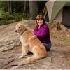 Adirondacks Forked Lake Kim Brody Tent Campsite 36 August 2013