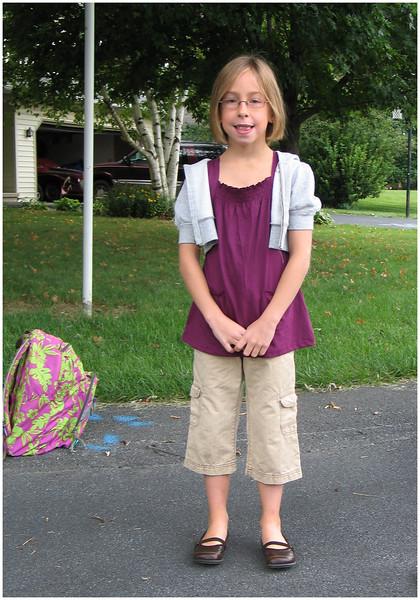 1st Day 3rd grade 2007
