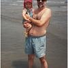 Avalon NJ Tom and Jenna Beach 1 July 2000