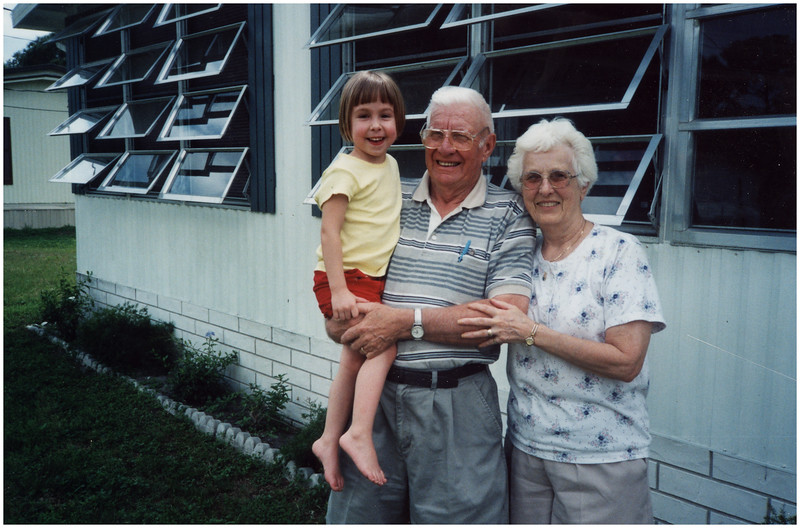 1 AAA Disney 1 with Mema and Pop Pop March 2003