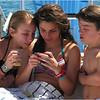 Puerto Rico Fajardo Catamaran Jenna Callie Noonan and PJ 1 February 2012