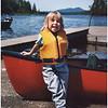 AAdirondacks Forked Lake Jenna Canoe Landing July 2002