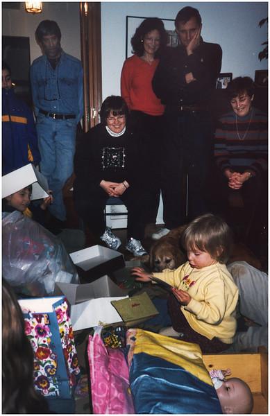 ADelmar NY Christmas Jenna Presents 1 December 2001