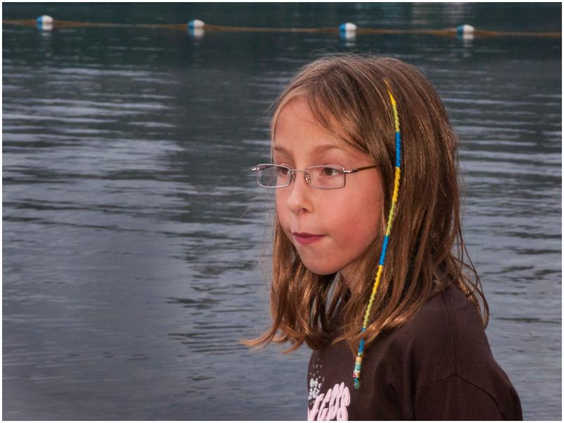 Adirondacks Raquette Lake Golden Beach with Jenna August 2008