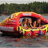 Adirondacks Blue Mountain Lake Nicole, jenna and JessieTubing Big Mabel July 2011