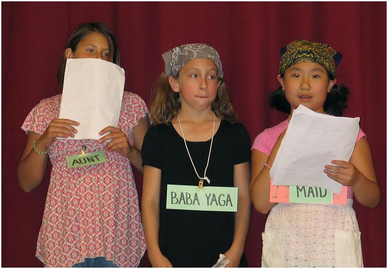 Third Grade Finale June 2008 Alexis, Jenna and Maho