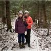 Adirondacks Heart Lake Trail Kim Jenna 2 November 2012